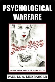 Book Psychological Warfare (WWII Era Reprint)
