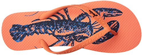 Joules U_Sandy, Women's Flip Flop Orange