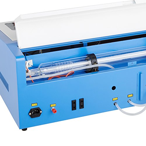 orion motor tech 12 x 8 40w co2 laser engraving machine