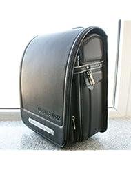Randoseru available deep black for a4 size black schoolbag
