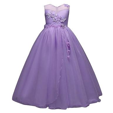 Longra Festliche Kleider Bekleidung Kleid Kinder Mädchen PkXiTuOZw