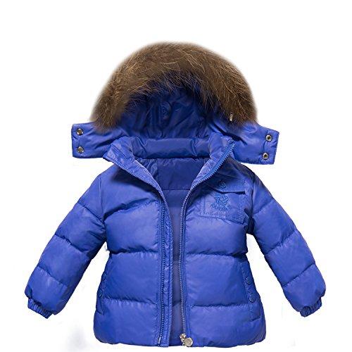 9da14afa0ecd ZOEREA unisex tuta da sci per bambino piumino bambino invernale giacca  bambina snowsuit snowboard piumino leggero sci giacche completo da neve per  bambino 2 ...