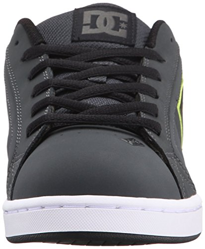 DC Men's Net Lace-Up Shoe Grey/Black/Green cheap sale discounts H5iqueJAx