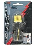 Kole Imports MR012 Light Bulb Converter with Switch
