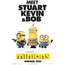 Minions Movie Poster 27 x 40 Style A 2015 Unframed