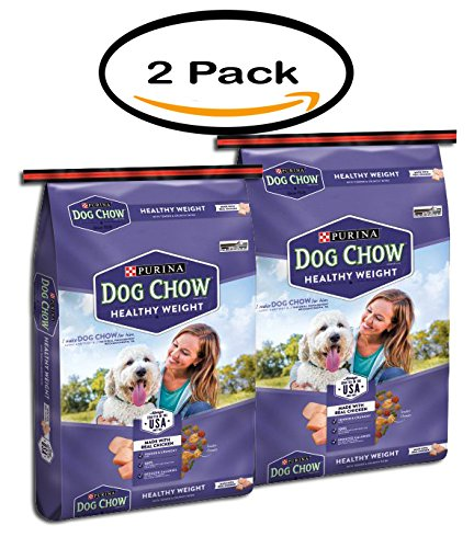 PACK OF 2 - Purina Dog Chow Healthy Weight Dog Food 16.5 lb. Bag by Purina Dog Chow