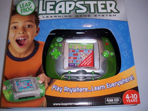 Leap Frog Leapster System Handheld Learning Green Silver (Handheld Learning System)