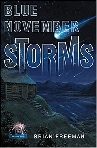 book cover of Blue November Storms
