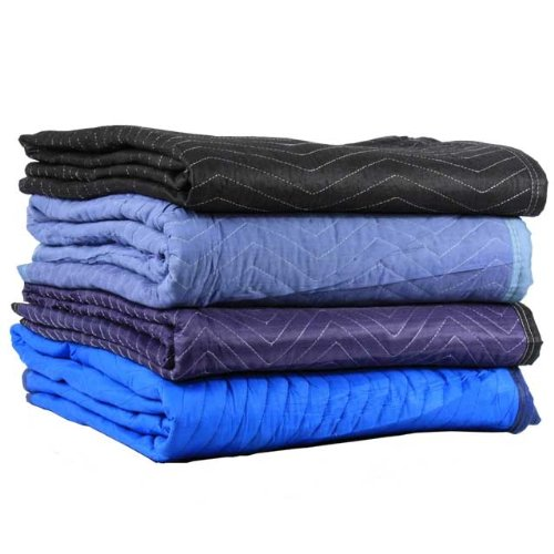 4 Pack of Miscellaneous US Cargo Control Moving Blankets