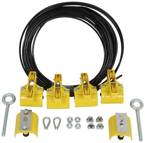 KH Industries FTSW-RL-KIT80 Festoon Stretch Wire Kit with 80' Length for Large Round Cable Systems