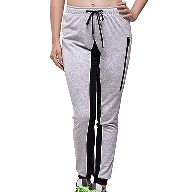 Pantalones Mujer Deporte Largos Verano Running Yoga PAOLIAN ...