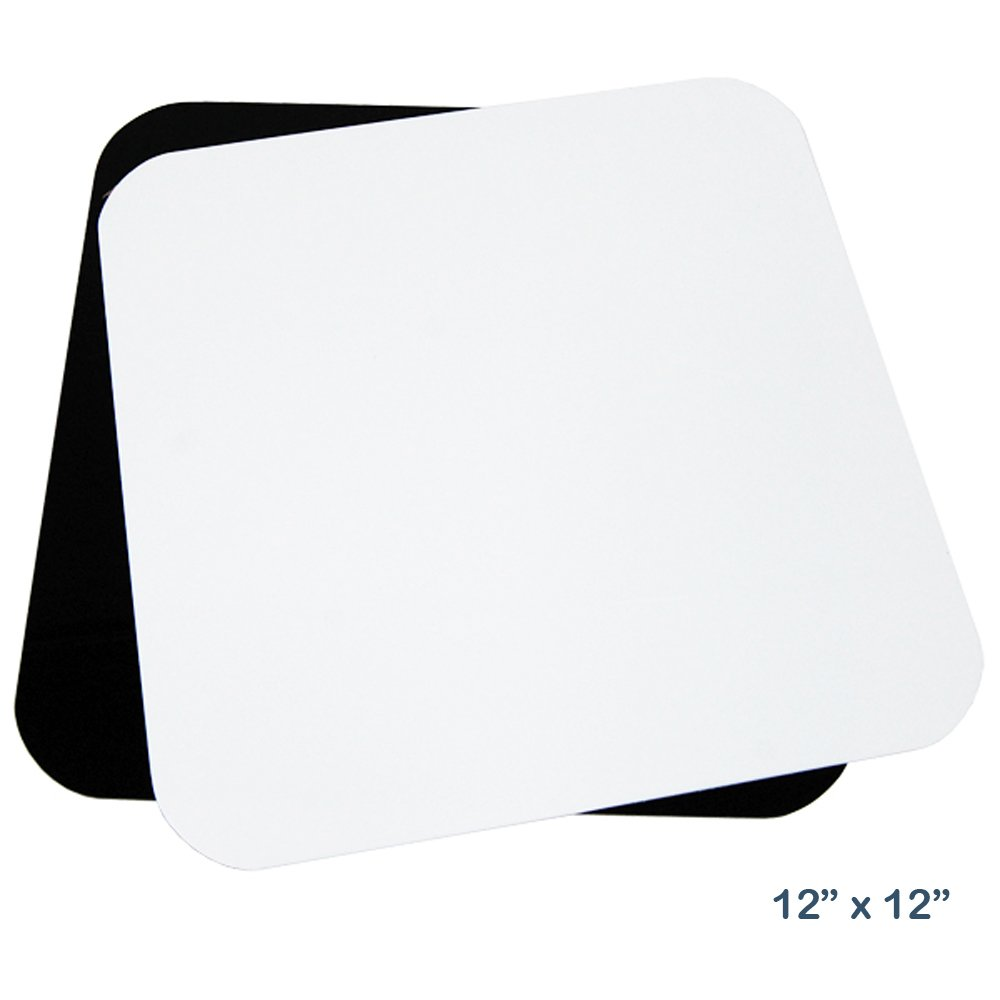 LimoStudio 2 x 18W LED Table Top Lighting Stand Kit with 12'' Acrylic Black & White Reflective Photo Background, Photo Studio, AGG1847 by LimoStudio (Image #2)