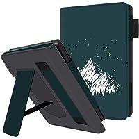 HUASIRU Etui na telefon komórkowy do wszystkich generacji Kindle Paperwhite - pokrowiec ochronny ze skóry PU z paskiem…