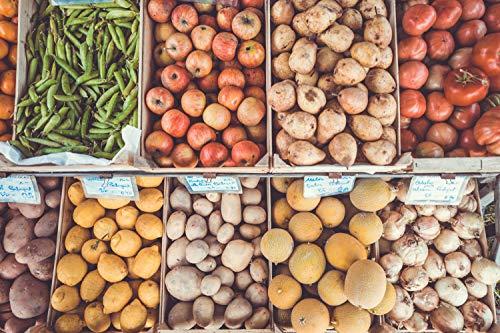 (Outdoors Food Market (Art Print))