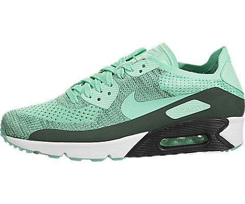 premium selection a0cc5 240c5 Galleon - Nike Men s Air Max 90 Ultra 2.0 Flyknit Hyper Turq Hyper Turq Running  Shoe (12 D(M) US)