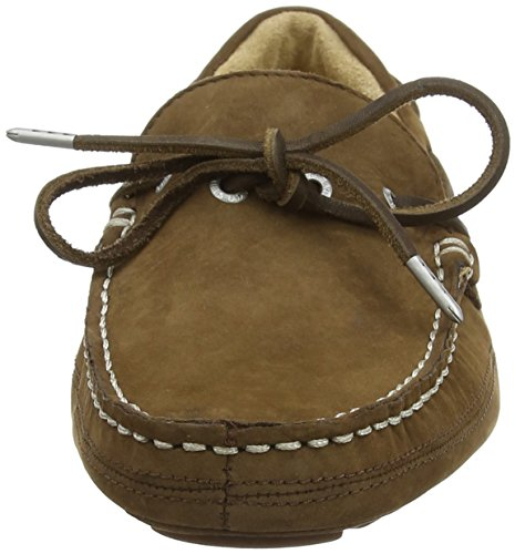 Mocasines SebagoKedge Tie Nubuck Hombre Marrón Brown Fx5n76xO
