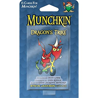 Munchkin Dragons Trike Card Game: Toys & Games
