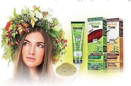Henna Natural Colorante en Crema, Color Castaño 5, Sin Amoniaco, Sin Sulfatos, Sin Parabenos