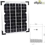 Offgridtec 10 W Solarmodul Solarpanel, Photovoltaikmodul, 3-01-001265