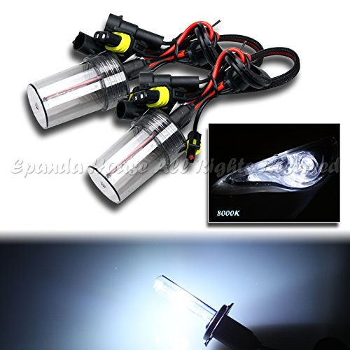Lights 8000k Fog Hid (2 X 880/899 Fog Driving Lights 8000K Sky Blue Xenon Ac Hid Replacement Bulbs Usa)