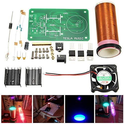 - Mini Music Tesla's Coil Kit Field Loudspeaker Low Power Miniature Magic Toy JX03 Project Parts - Arduino Compatible SCM & DIY Kits Arduino Compatible Kits & DIY Kits - 1 x DIY Wall Clock