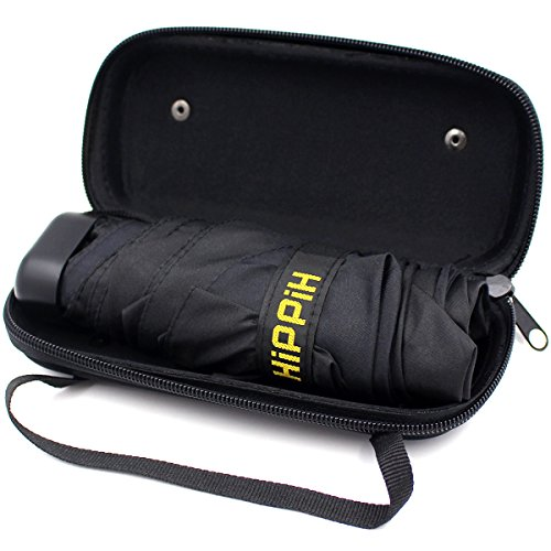 Hippih Small Mini Umbrella with Case Light Compact Design makes it perfect for Travel