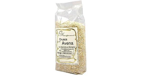 Salvado de avena BIO 500 g (granulado para la molienda): Amazon.es: Alimentación y bebidas