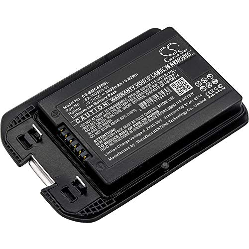 2600mAh Battery Replacement for MotorolaMC40, MC40C, MC40N0, MC40N0-SCG3R00, MC40N0-SCJ3RM0, P/N 82-160955-01 by SLCBATTERY