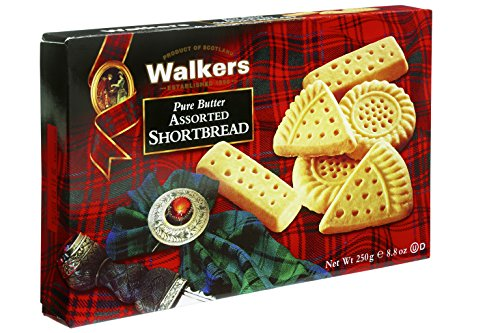 Walkers Shortbread Assorted Pure Butter Shortbread, 8.8 Ounce