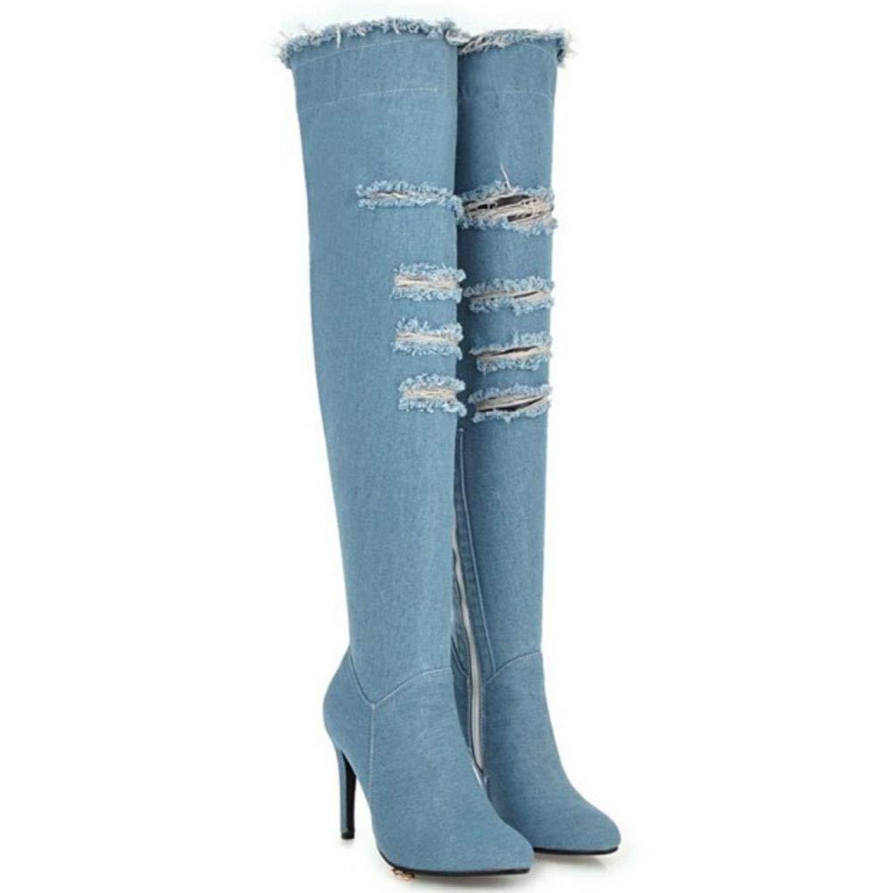 Lydee Damen Mode Mode Mode Stiletto Absatz Lange Stiefel 0cb168