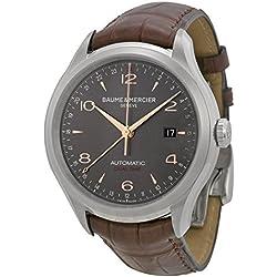 Baume & Mercier Men's BMMOA10111 Clifton Analog Display Swiss Automatic Brown Watch