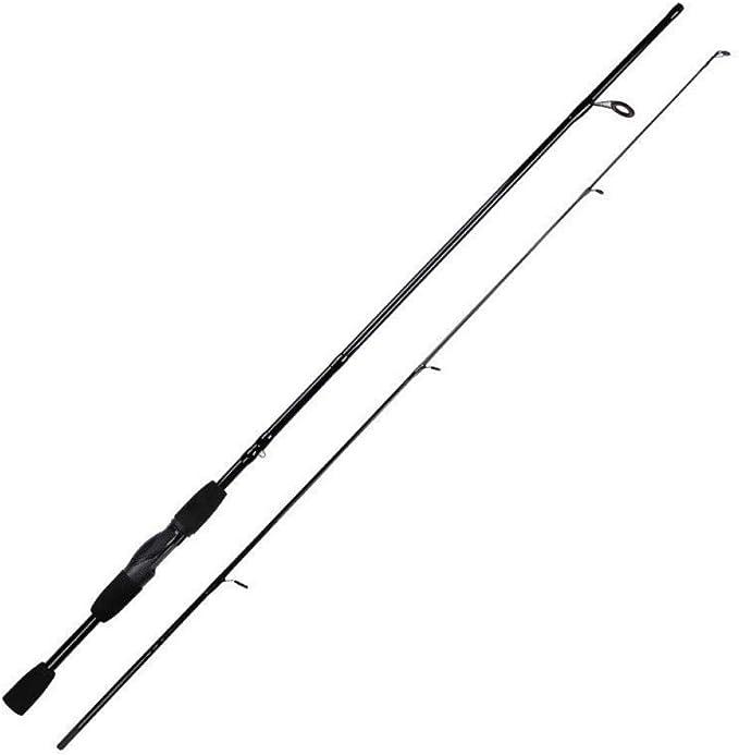 FISHYY Caña De Pescar M Tip Casting Spinning Rod 1.8M 2 Secciones ...