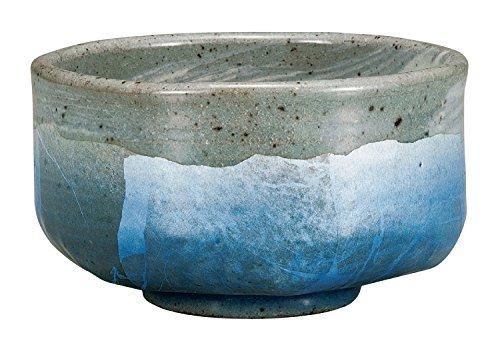 Kutani Yaki Ginsai Blue Potteru 4.8inch Matcha Bowl by Watou.asia