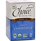 Organic Tea - Chamomile, Caffeine-Free, 6 Units / 16 bag ( Value Bulk Multi-pack)