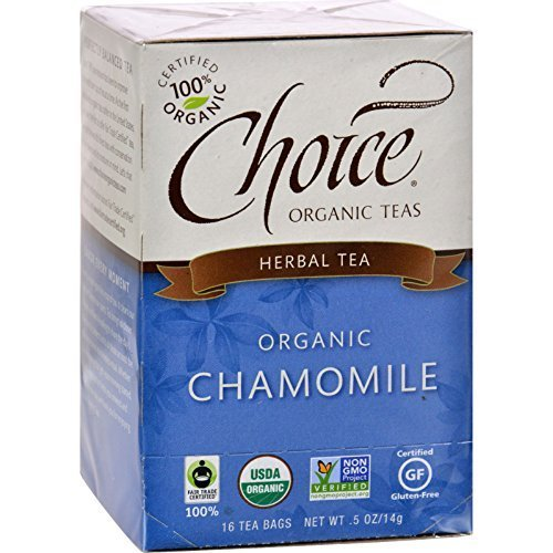 Organic Tea - Chamomile, Caffeine-Free, 6 Units / 16 bag ( Value Bulk Multi-pack) by Choice Organic