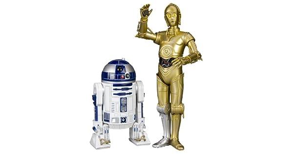 Amazon.com: Kotobukiya Star Wars: C-3PO y R2-D2 ArtFX + ...