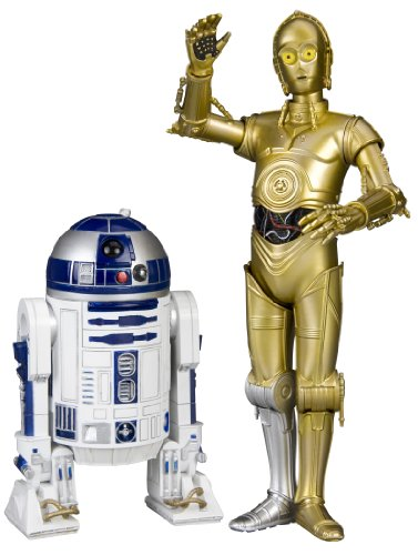 Kotobukiya Star Wars: C-3PO And R2-D2 ArtFX+ Statue Two-pack