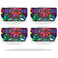 Skin For Blade Chroma Drone Battery (4 pack) – Stained Glass Window | MightySkins Protective, Durable, and Unique Vinyl Decal wrap cover | Easy To Apply, Remove, and Change Styles | Made in the USA