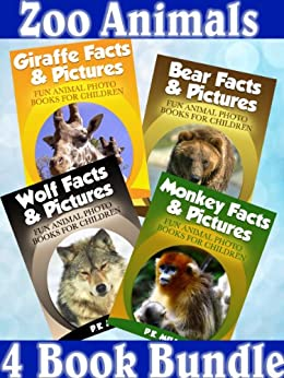 Zoo Animals - 4 Book Bundle (Bear Facts & Pictures ...