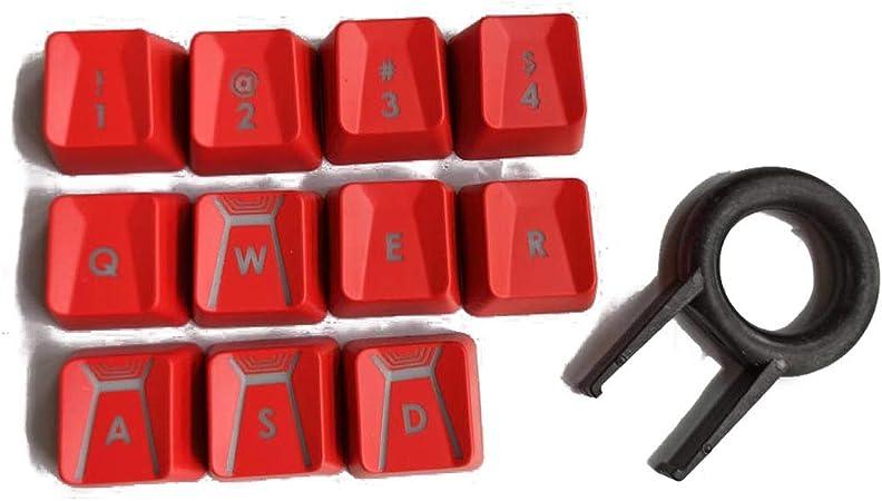 ciriQQ Teclado retroiluminado de 11 teclas/teclado mecánico ...