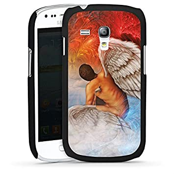 Carcasa Samsung Galaxy S2 Angel Art, azul y rojo, Hard Case ...
