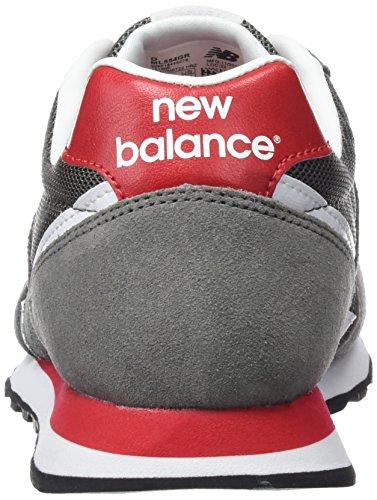 Homme New Ml554 Sportives Grey Baskets Clásico Balance Gris q6qFH