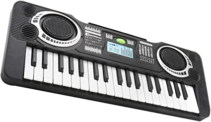 Tomaibaby Teclado de Piano para Niños 37 Teclas Instrumento Musical Multifunción Piano de Juguete Teclado Electrónico para Niños de 2 3 4 5 Años Niños ...