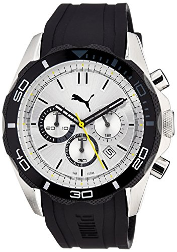 Puma Challenger-Large Silver Quartz Watch PU103191002