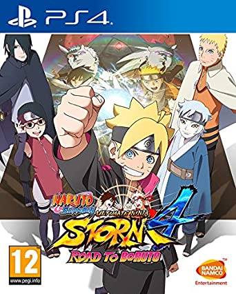 Amazon.com: NARUTO SHIPPUDEN: ULTIMATE NINJA STORM 4 - ROAD ...