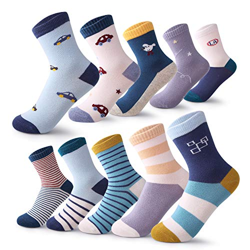 10 Pairs Children's Winter Warm Animal Crew Socks Kids Boys Girls Socks