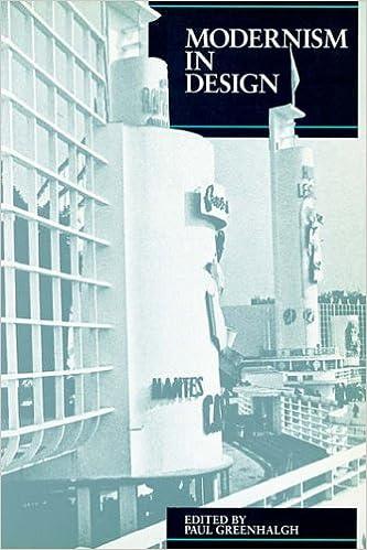 Book Modernism in Design Pb (Critical Views)