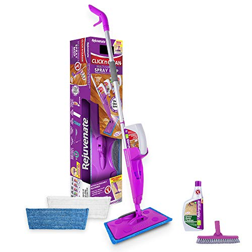 Rejuvenate  Click n Clean Multi Surface Spray Mop System for