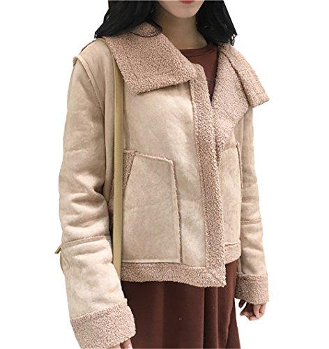 Beige Larga COCO clothing Abrigo para Manga Blusa mujer fx06xq8w