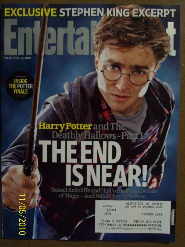Entertainment Weekly #1128 November 12, 2010 Harry Potter and The Deathly Hallows